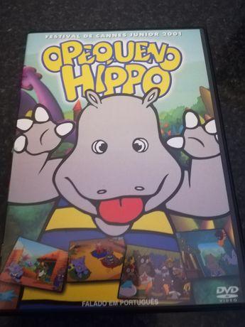 Dvd o pequeno Hippo