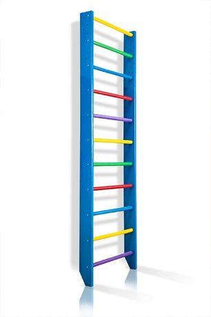 Drabinka gimnastyczna w kolorze BLUE 220x80 lub 240x80