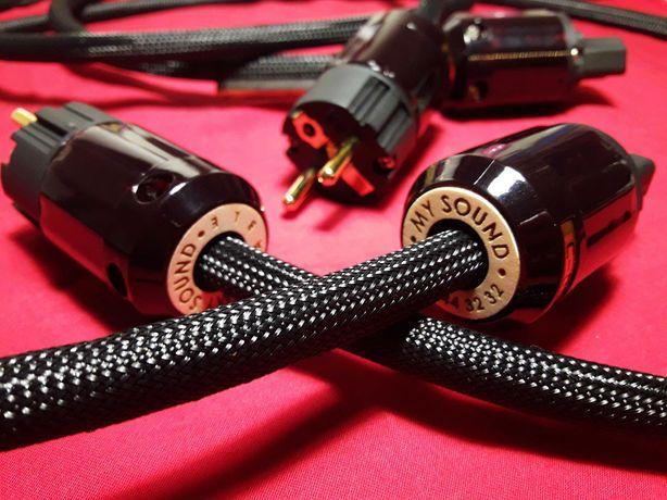 Силовой сетевой кабель питания My Sound Power Hi-Fi Hi-END
