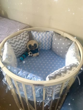 Детская кроватка трасформер «Royal Sleep 9в1»