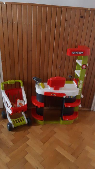 Kasa Sklep Supermarket wózek skaner SMOBY Lubin - image 1
