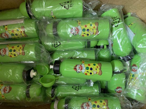 Бутылка ( поилка ) для воды алюминиевая детская