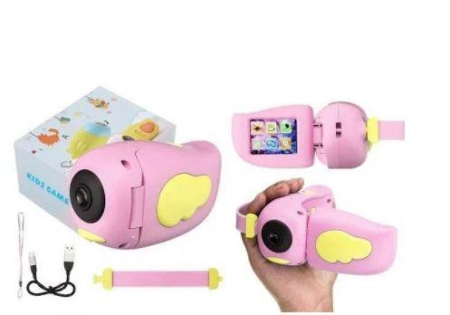 Детский фотоаппарат - видеокамера Kids Camera птичка
