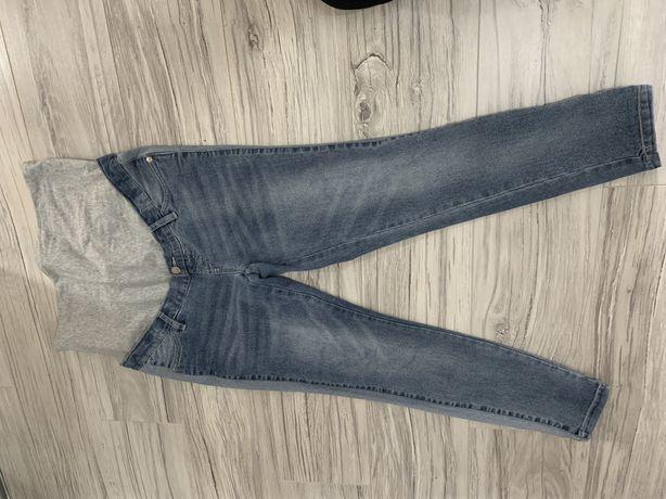 Spodnie ciazowe bpc mama lampasy jeansy z panelem