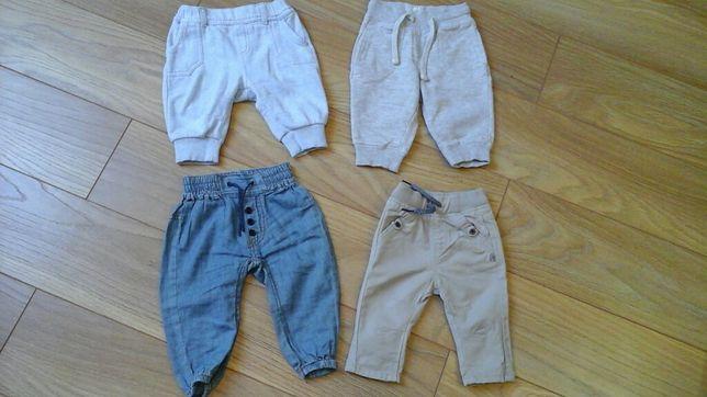 Spodnie 0-3 miesiące chłopiec