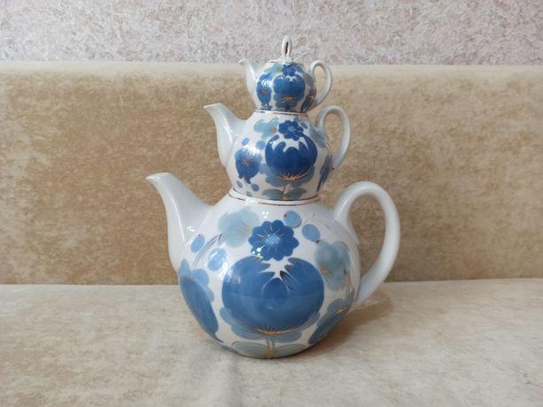 Продам набор из трёх чайников ( КУПЕЧЕСКИЙ ) Производство СССР.