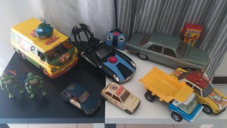 Carros portugueses em chapa, carros telecomando batman tartaruga ninja