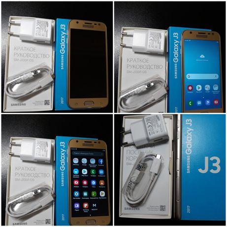 Телефон samsung Galaxy J3 sm-j330F/DS 2/16GB Gold (SM-J330FZDDSEK)
