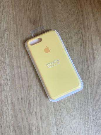 Apple etui case iphone 7 plus/8 plus żółty