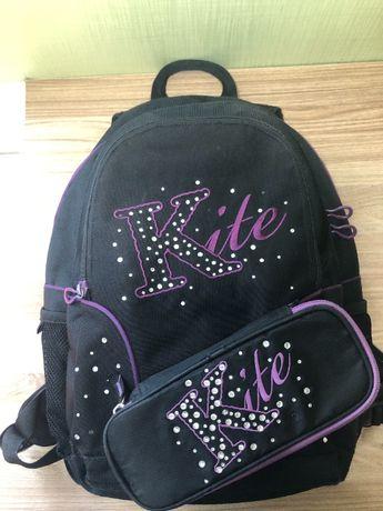 Стильный набор для подростка Кайт 3 в 1: рюкзак Kite, пенал Kite+сумка