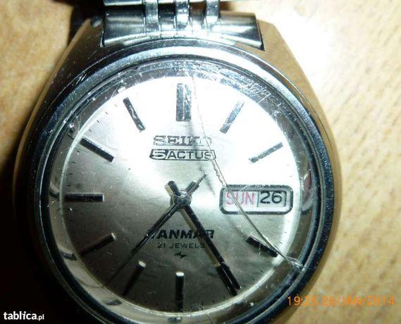 zegarek męski seiko 5 - 1 z 1mln. wyprodukowanych