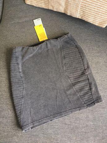 Spódnica jeansowa czarna H&M rozmiar S