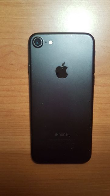 Iphone 7 Black Mate