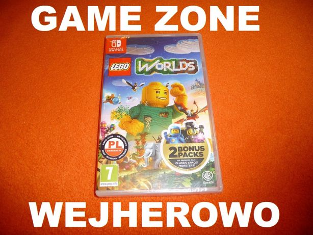 LEGO Worlds PL Nintendo SWITCH = Wejherowo = gwarancja / wymiana