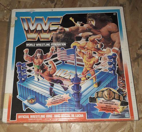 Ringue original WWF Hasbro completo em caixa