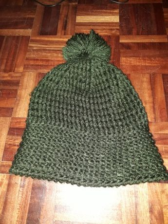 Gorro de inverno verde