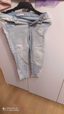 Super spodnie 116cm 40 plus bluzeczka