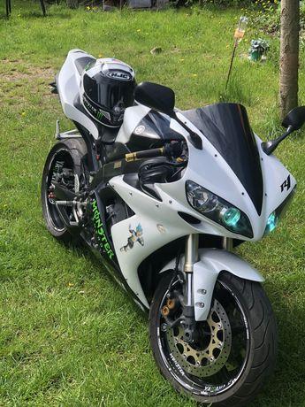 Yamaha r1 2004 r limited biala strzala