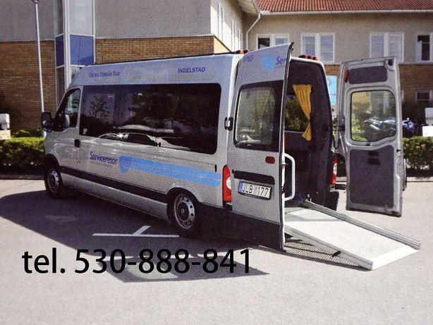 Transport Osób, przewóz niepełnosprawnych wygodnie i bezpiecznie - VIP