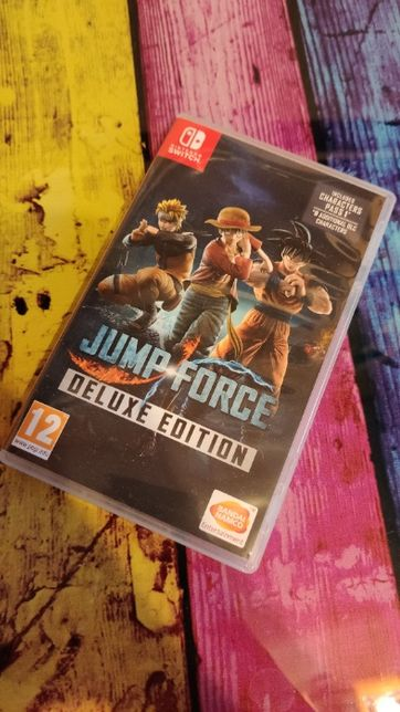 Jump Force Deluxe Edition Nintendo Switch NS
