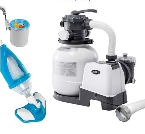 Набор для чистки бассейна фильтр-насос (6 000 л/ч,пылесос,скиммер, ш