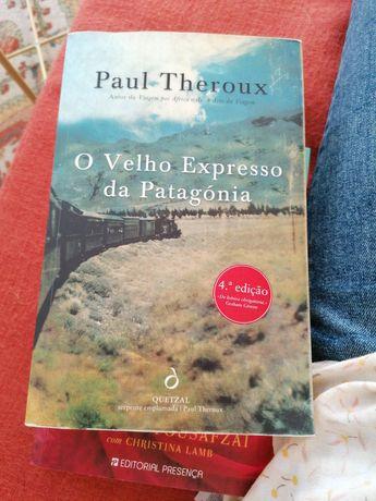 """Livro """"O velho Expresso da Patagónia"""" por Paul Theroux"""