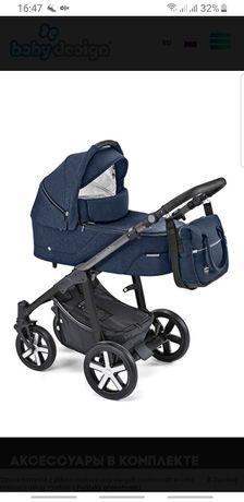 Продам Универсальная коляска 2 в 1 Baby Design Husky WP 2019 03 navy
