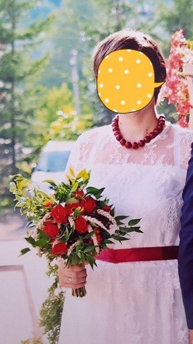 Suknia sukienka ślubna koronkowa sukienka biała xl 42 Piwniczna-Zdrój - image 1