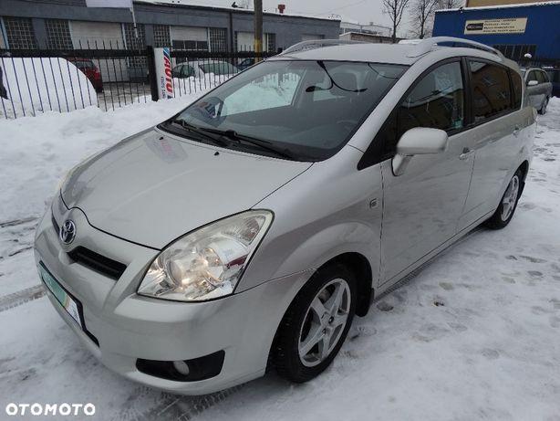 Toyota Corolla Verso 1,8 Benzyna,LPG,Salon Polska,Serwisowana,Stan BDB,7 Miejsc