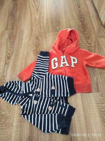 Bluza polar GAP i sweterek Jasper Junior