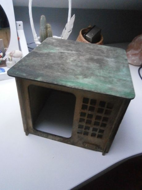 Oddam za darmo drewniany domek dom dla małego gryzonia królika chomika
