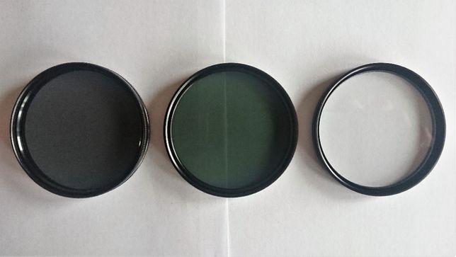 FILTRY HAMA do obiektywu 62mm: polaryzacyjny, UV, zielony-komplet 3szt
