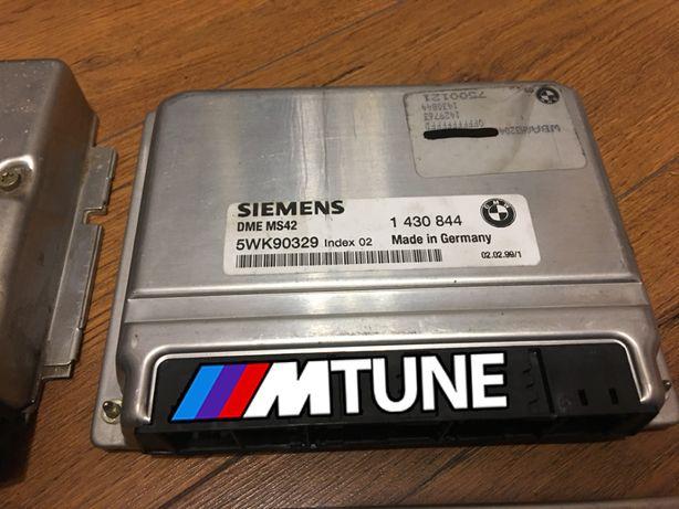 Sterownik ECU komputer BMW E46 MS42 M52tub28 LAMBDA EWS OFF MTUNE POPS