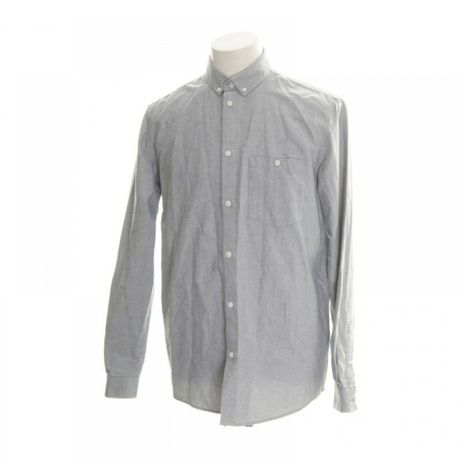 Рубашка Mtwtfss Weekday Серая