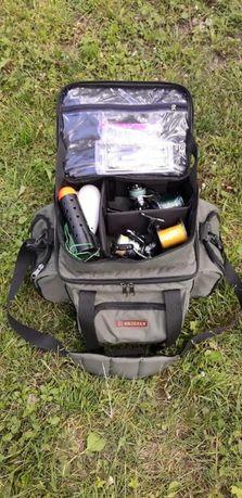 Карповая фидерная рыболовная сумка органайзер для снастей