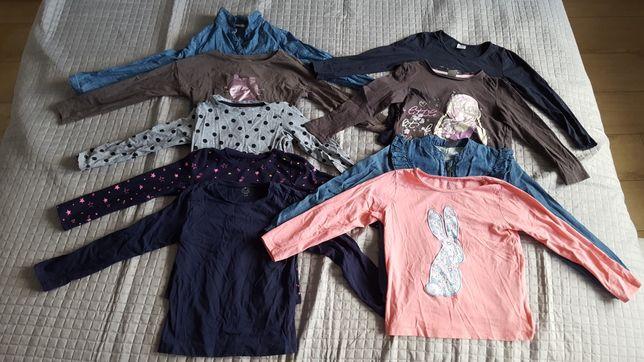 Paka ubrań dla dziewczynki 116