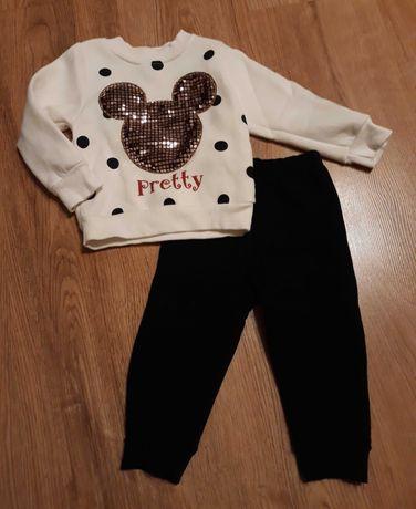 Zestaw bluza i spodnie Myszka Miki