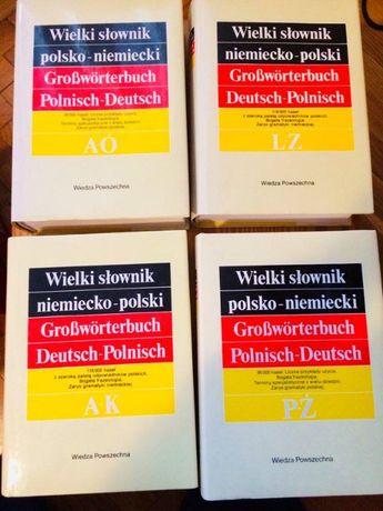 Wielki słownik pol-niem i niem- pol - 4 tomy!