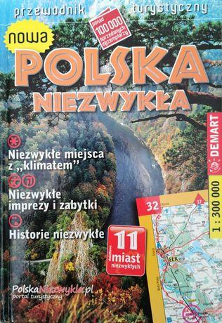 """Przewodnik turystyczny """"nowa Polska niezwykła"""", twarda okładka"""