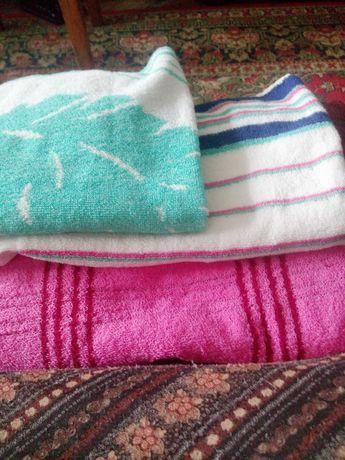 полотенца для лица  и банное махровые мягкие