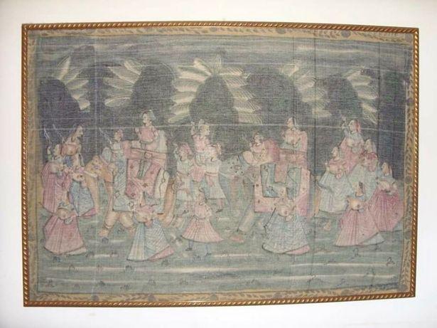 Quadro (grande) - pintura em tecido