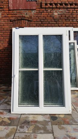 Okna 107x156 ze szprosem używane z Niemiec dowóz cały kraj