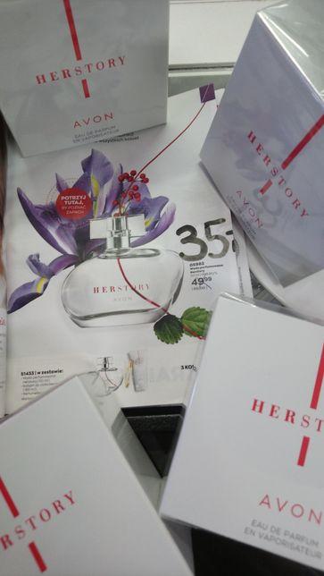 Nowe perfumy avon herstory woda perfumowana 50ml dzień kobiet