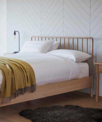 Łóżko z drewna dębowego Wycombe