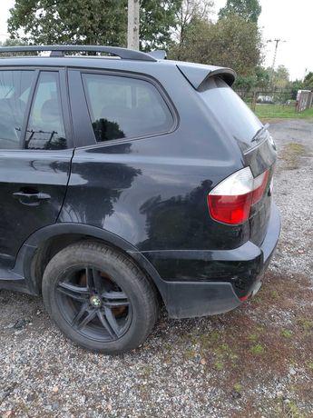 BMW X3 czarne ee