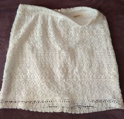 Spódnica biała L/M