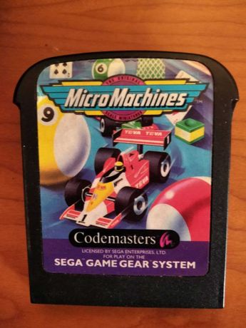 MicroMachines - Game Gear