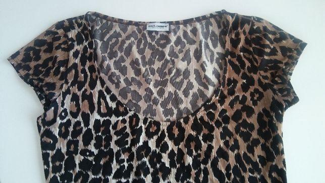 Dolce&Gabbana Underwear bluzka, panterka
