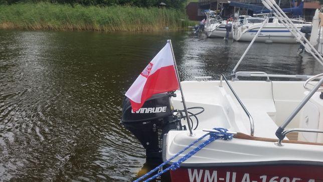 Flagsztok, bandera, maszt flagowy do jachtu żaglówki motorówki