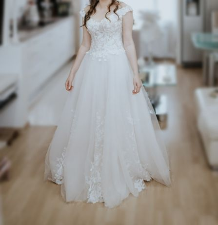 Suknia Ślubna rozmiar 36 kolor IVORY